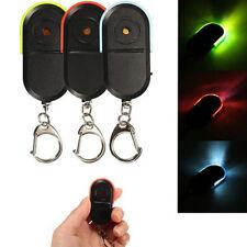 Wireless Anti-Lost Alarm Key Finder Locator Keychain Whistle Sound LED Light New