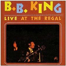 B.B. KING - LIVE AT THE REGAL  CD NEW+