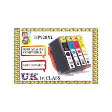 4 Chipped 920 xlcartridges HP Officejet 6000 6500 6500 a 7000 7500a nonoriginal