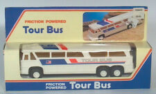 """Motor Coach Industries 7.5"""" MCI MC8 Friction Powered Tour Bus Scale Model In Box"""