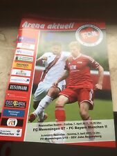 Stadionmagazin FC Memmingen - FC Bayern München II Regionalliga Bayern