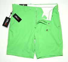 Mens Ralph Lauren RLX Golf Shorts Stretch Tailored Green W36 Inseam 9in £105