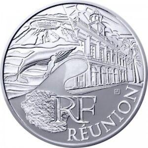 Réunion 2011 - 10 Euro des Régions en Argent