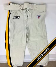 Pittsburgh Steelers Game Used/Worn Player Undetermined Reebok Throwback Pants