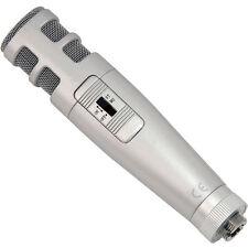 3.5mm Stereo/Dual Kondensator Mikrofon-Mini Desk/Table Clip Laptop PC Recording