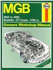 MG MGB MK1 MK2 GT COUPE & ROADSTER 1962-80 OWNERS WORKSHOP MANUAL *VGC HARDBACK*