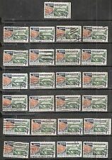 25 WATER CONSERVATION #1150 Used US 1960 Commemorative 4c Stamps