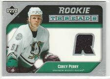 2005 05-06 Upper Deck Rookie Threads #RTCP Corey Perry