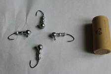Dock Shooters Double Ring Round Head Jigs 1/32 - 3/8oz w/ Black Sickle Hooks Lot