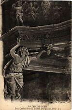 CPA  La Chaise-Dieu - Les Cariatides du Buffet d'Orgues (XVI s)  (586029)