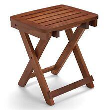 Conair PTB5 Folding Teak Wood Seat Safe Portable Bath Shower Bench