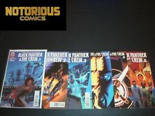 Black Panther and Crew 1-6 Complete Comic Lot Run Set Marvel Coates Collection