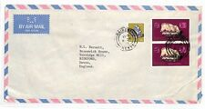 HH266 1982 Kenia Nairobi Cubierta Devon GB correo aéreo {samwells-cubre] Pts