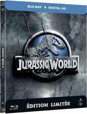 Jurassic World Steelbook Edition Limitee (Blu-ray, 2015)-NEUF SOUS BLISTER