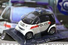 1:43 Smart City Coupe Austria Police cars the world + Magazine #45