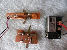 LOT 3 platine électrique ampoule contacteur+2 vis pour 10952 MARKLIN typ 2D2 HO