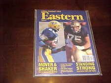 1993 Eastern Football Athlon Yearbook Notre Dame Pitt Panthers Cover