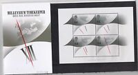 GB Presentation Pack M02 1999 Millennium Timekeeper MINIATURE SHEET