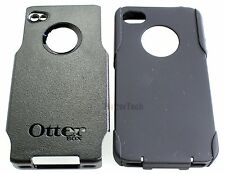 Authentic Black Otterbox Commuter Hybrid Case Cover For Apple iPhone 4 4S