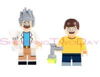 RICK AND MORTY LEGO MOC CUSTOM MINIFIGURES BRICKS BLOCKS