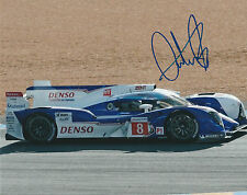 ANTHONY DAVIDSON #8 TOYOTA TS030 LE MANS 2012 HAND SIGNED ORIGINAL PHOTOGRAPH
