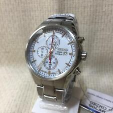 SEIKO SOLAR watch 10 ATM water resistant chronograph