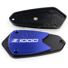 Kawasaki Z1000 2010-2016 CNC Brake Master Cylinder Reservoir Cap Cover Blue