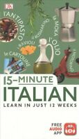 15-Minute Italian, Paperback by Logi, Francesca, Brand New, Free shipping in ...