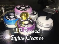Stylus Cleaner Dust Removal For Vinyl Record Player Cleaning Groove Hero Safe