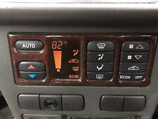 Saab 9-3 Heater Unit In Fahrenheit + Wood Surround Trim Cover Facia 50-47-600