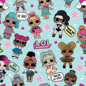 LOL SURPRISE ROLL OF GIFT WRAP (12.5sq.ft.) ~ Birthday Party Supplies Paper Girl