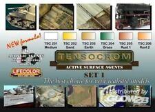 LIFECOLOR Tensocrom Weathering #1 Acrylic Paint Set 6 22ml Bottles FREE SHIP