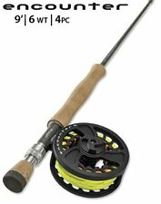 Orvis Encounter 906-4 9ft 6wt Rod and Reel Combo