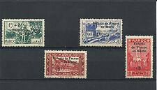 "#205 French Morocco Maroc ""Enfants de France au Maroc"" ** 1942 MNH  - Overprint"