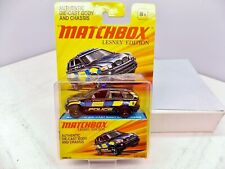 Matchbox Lesney Edition BMW X5 Police SUV - Black - AWESOME