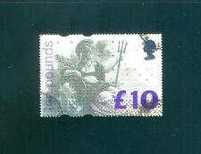 GB 1993 £10 good used. Postmarks in three corners. One postage for multi buys.Rx