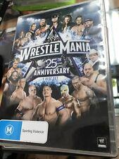 WWE Wrestlemania 25th anniversary DVD