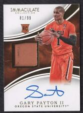 ET 2016-17 Immaculate Collection Collegiate Gary Payton II RPA PATCH AUTO 81/99