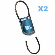 DAYCO Belt Fan x2 FOR Hino GH 91-97,6.5L,12V,OHV,Turbo,Diesel,GH1H