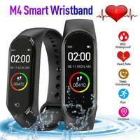 Smart Band Watch Bracelet Wristband Blood Pressure Heart Rate Tracker M3 M4