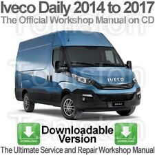 Iveco Daily 2014 to 2017 Workshop, Service and Repair PDF Manual DOWNLOAD
