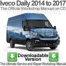 Iveco Daily 2014 a 2017 Taller, Servicio y Reparación PDF Manual De Descarga