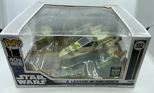 STAR WARS POP Vinyl YODA: A LESSON IN THE FORCE 382 Galactic Convention 2020
