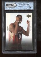 Lebron James RC 2003-04 Upper Deck Box Set #19 Rookie GEM MINT 10