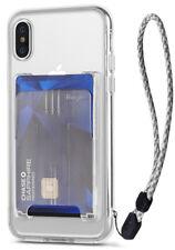 Para iPhone XS Max, Xr, XS | Ringke Pacote [capa transparente, porta-cartões, alça de pulso]