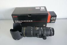 SIGMA 70-200mm F2,8 APO EX DG OS + SONY LA-AE3 + TELE CONVERTER 1.4x DG