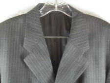 Ralph Lauren 100% Wool Pinstripe Button Business Pants Classic 2piece Suit 44R