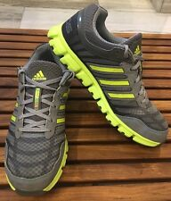 ADDIDAS Climacool Aerate Sneakers Men's 9.5- Grey + Yellow MINT!!