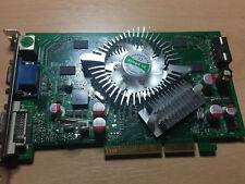 New Nvidia GeForce 7600GT 512MB 128-bit DDR2 AGP x8 Card, Win 7/8 Compatible