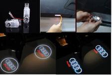 AUDI CAR DOOR PUDDLE EMBLEM PROJECTOR CREE LED COURTESY LIGHT